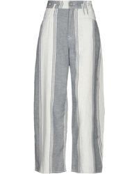Vivienne Westwood Anglomania Pantalones - Blanco