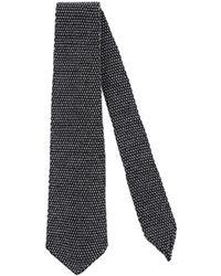 Paolo Pecora Ties & Bow Ties - Black