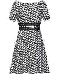 22 Maggio By Maria Grazia Severi Short Dress - White