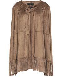 Unreal Fur Capes & Ponchos - Natural