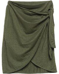 Majestic Filatures Mini Skirt - Green