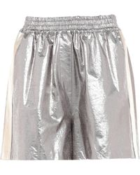 Nude Shorts & Bermuda Shorts - Metallic