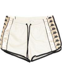 Kappa Shorts & Bermuda Shorts - White