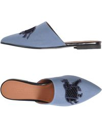 Emporio Armani Mules & Zuecos - Azul