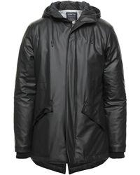 DISTRETTO 12 Down Jacket - Black