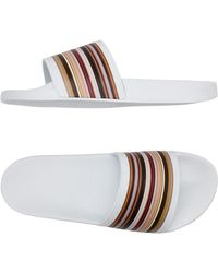 Paul Smith - Rubber Slides - Lyst