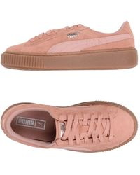 PUMA Low-tops & Trainers - Pink