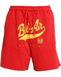 BEL-AIR ATHLETICS Shorts & Bermuda Shorts - Red