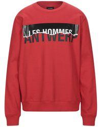 Les Hommes Sweatshirt - Rot
