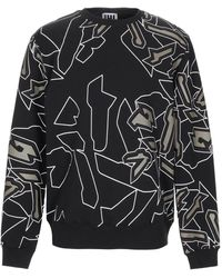 LHU URBAN Abstract graphic print sweatshirt - Noir