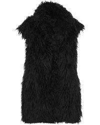 Masnada Teddy Coat - Black
