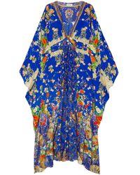 Camilla Vestido de playa - Azul