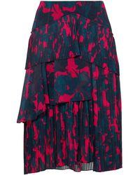 Jason Wu 3/4 Length Skirt - Multicolour