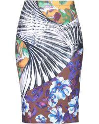 Clover Canyon Knee Length Skirt - Yellow
