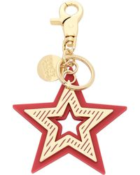 See By Chloé Key Ring - Red