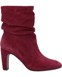 Chie Mihara Ankle Boots - Red