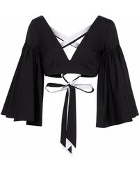 MILLY Blouse - Black