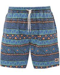 Quiksilver Pantalons de plage - Bleu