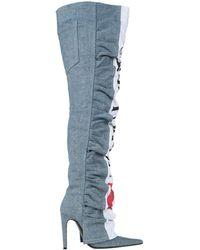 DIESEL Knee Boots - Blue