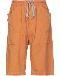 Rick Owens Drkshdw Bermuda - Arancione