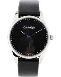 Calvin Klein Orologio da polso - Nero