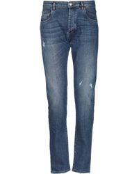 Officina 36 Denim Trousers - Blue