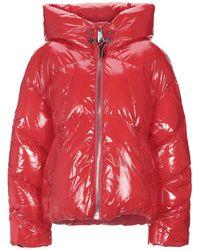 Nicole Benisti Down Jacket - Red