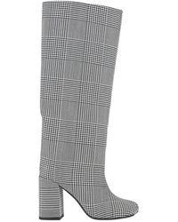 MM6 by Maison Martin Margiela Knee Boots - Black