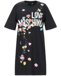 Love Moschino Short Dress - Black