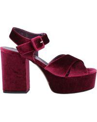 Niu Sandals - Purple