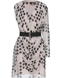 Full Circle Kurzes Kleid - Mehrfarbig