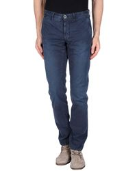 Incotex Red Pantalones - Azul