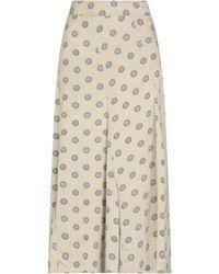 Maliparmi 3/4 Length Skirt - Natural