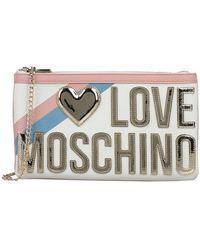 Love Moschino Borsa a mano - Bianco