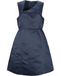 Halston Midi Dress - Blue