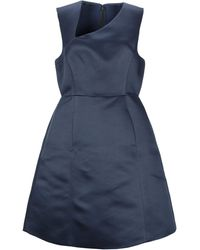 Halston Knee-length Dress - Blue