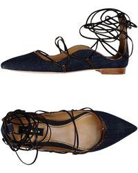 DSquared² Ballet Flats - Blue