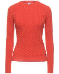 Bark Pullover - Orange