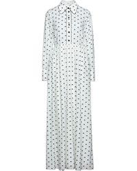 Manoush Vestido largo - Blanco