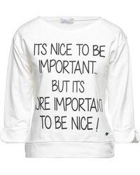 Please Sweatshirt - White