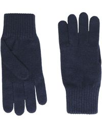 8 by YOOX Gloves - Blue