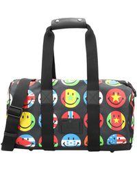 Moschino Travel Duffel Bag - Black