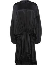 Simone Rocha Vestido por la rodilla - Negro