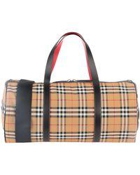 Burberry Travel Duffel Bags - Multicolour