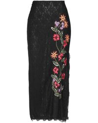 Mariella Burani Long Skirt - Black