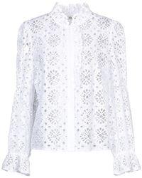Diane von Furstenberg Hemd - Weiß