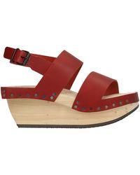 Trippen Sandals - Red