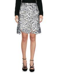 Self-Portrait - Knee Length Skirt - Lyst
