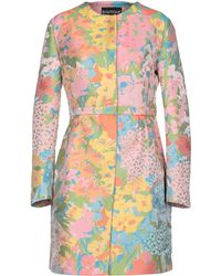 Boutique Moschino Overcoat - Pink