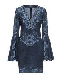 Jitrois Short Dress - Blue